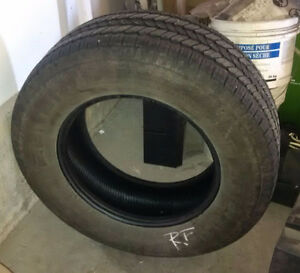 267-65-17 all season General Tire (only 1)