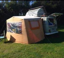 Camper van driveaway tent