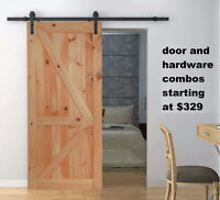 Soft Close Barn Door hardware with free shipping