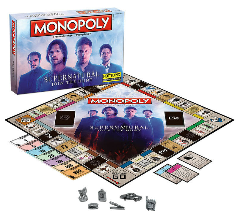 USAopoly MONOPOLY® Call Of Duty, IT, Guardians of The Galaxy, Warhammer  ... Supernatural