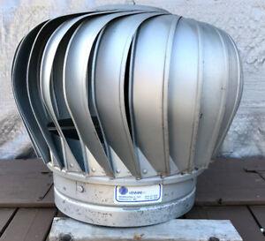 Turbine aération de toit Venmar pour embase 12 pouces
