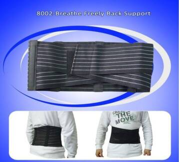 Back Support Brace Belt Lumbar Lower Waist 8002 Pain Relief