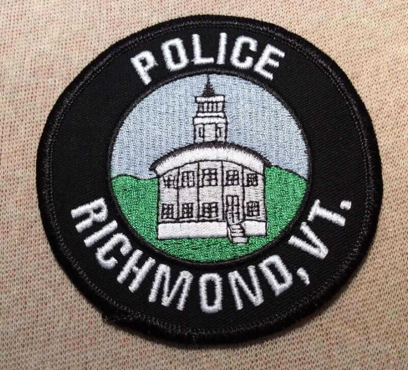 VT Richmond Vermont Police Patch