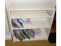 Children's Cream bookshelf