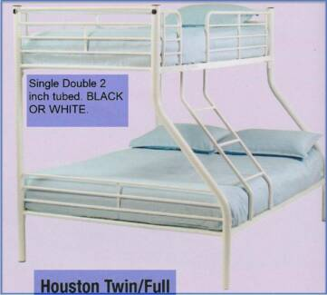 New Single/Double Metal Bunks. Rent to Keep Option.