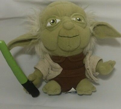 Yoda Star Wars Plush Lucas Films Stuffed Animal Yoda 7""