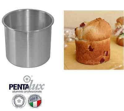FORMA STAMPO RUOTO TEGLIA PAN BRIOCHE PANETTONE DOLCE SALATO 18 20  IN ALLUMINIO