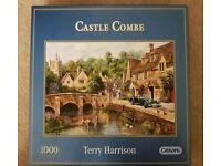 Castle Combe 1000 piece jigsaw puzzle