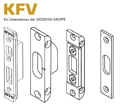 KFV Schließbleche für Mehrfachverriegelung Bolzen / Schwenkhaken AS 2300 / 2600 ()