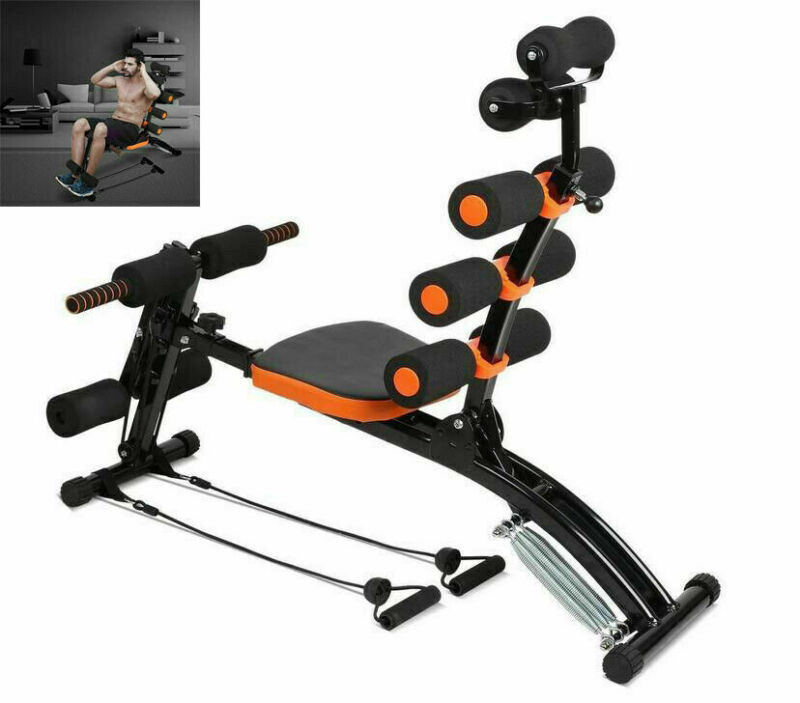 Ab Trainer Bench Abdominal Stomach Exerciser Workout Home Fitness Machine