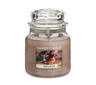 YANKEE CANDLE GIARA MEDIA WARM AND COSY