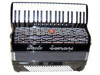 Paolo Soprani Professional 111 4 voice 41/120 Bass Musette Accordion