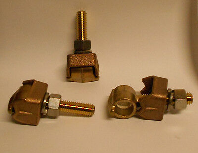 Tls42l Anderson Bronze Eyebolt Tap Terminal Lug Use On 34 Flat Bar