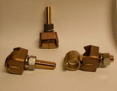 Tls42l Anderson Bronze Eyebolt Tap Terminal Lug Use On 34 Flat Bar