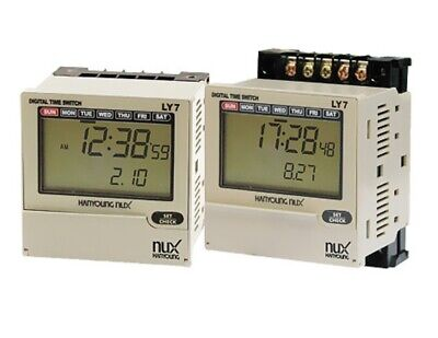 LY-7 LCD Weekly Yearly timer Switch Built in Season funcution 72x72mm 100-240VAC