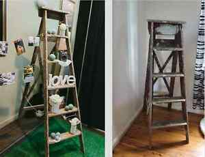 Beautiful vintage wooden ladder Croydon Burwood Area Preview