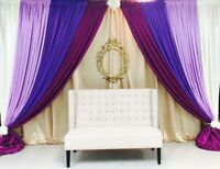 Affordable wedding decor and rental for only $200