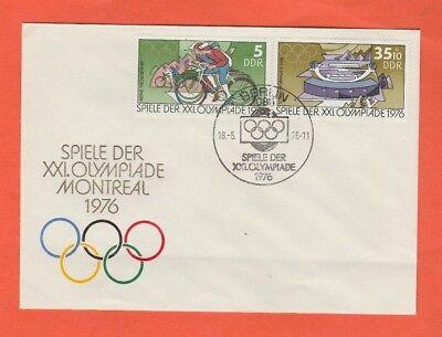 Orig.Ersttagsbrief   Olympische Spiele MONTREAL 1976 - Edition A  !!  SELTEN