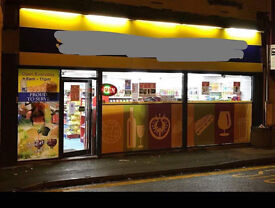 Off Licence Shop newly furbished