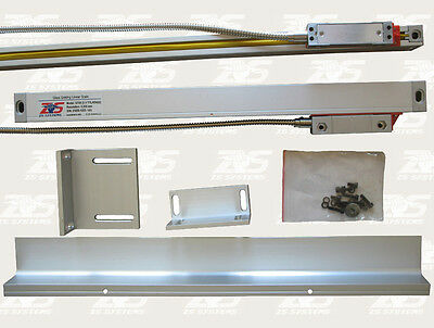 """Glass Scale Linear Encoder 12"""",14"""" or 16"""" for DRO Digital Readout NEW"""