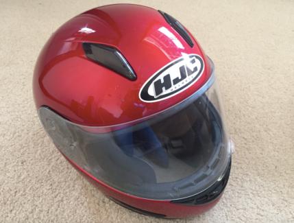 HJC Full Face Motorcycle Helmet - Size Small