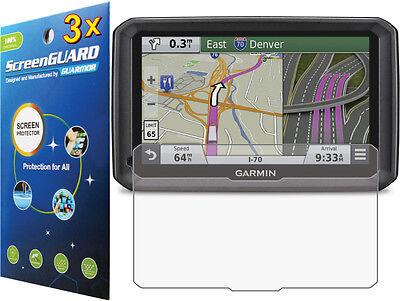 3X Clear Anti Glare Matte Lcd Screen Protector For Garmin Dezl 770 770Lmthd Gps