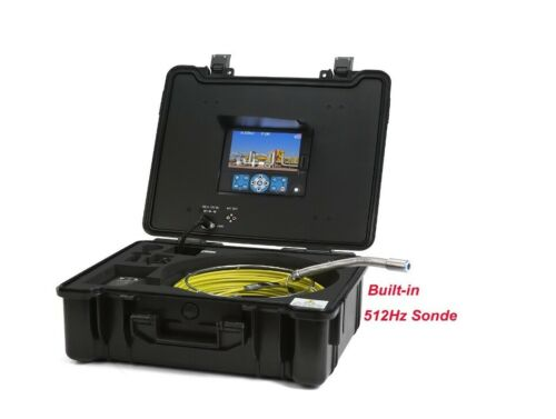 GooQee PIC003-L Drain Sewer Pipe Video Inspection System