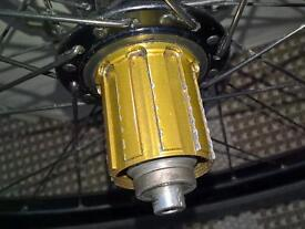 Hope Pro 2 hubs with Stan's NoTubes rims.