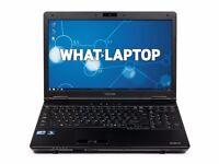 TOSHIBA S500/ INTEL I3 2.27 GHz/ 4 GB Ram/ 320GB HDD/ WIRELESS/ WEBCAM/ BLUETOOTH/ WIN 7