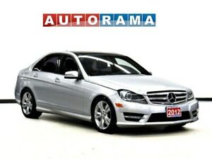 2012 Mercedes-Benz C-Class C300 4MATIC NAVIGATION LEATHER SUNROO