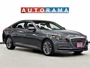 2015 Hyundai Genesis 3.8 NAVI BACK UP CAM LEATHER SUNROOF AWD