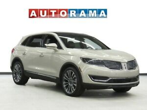 2016 Lincoln MKX NAVIGATION LEATHER PAN SUNROOF 4WD BACKUP CAM