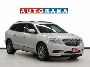 2015 Buick Enclave CXL AWD LEATHER SUNROOF 8 PASSENGER BACKUP CA