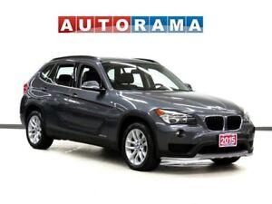 2015 BMW X1 xDrive28i PREMIUM PKG LEATHER PAN SUNROOF AWD