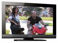 """Sony 32"""" Widescreen LCD HD TV With USB, Remote & Built-In Freeview"""
