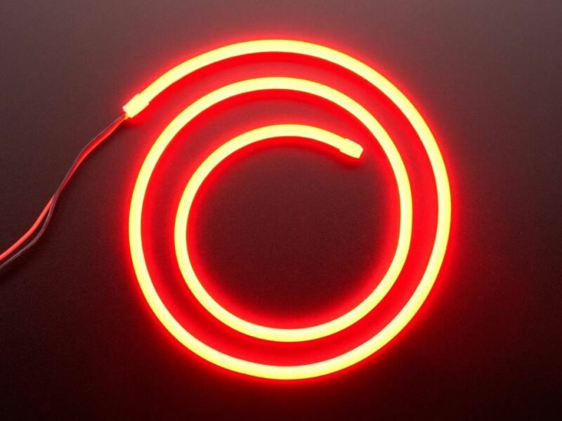 Flexible+Silicone+Neon-Like+LED+Strip+-+1+Meter+-+Red