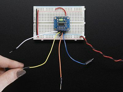 Adafruit Standalone 5-Pad Capacitive Touch Sensor Breakout – AT42QT1070