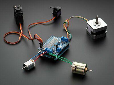 Adafruit Motorstepperservo Shield For Arduino V2 Kit Ada1438