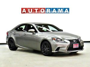 2015 Lexus IS 250 FSPORT AWD LEATHER SUNROOF NAVIGATION BACK UP