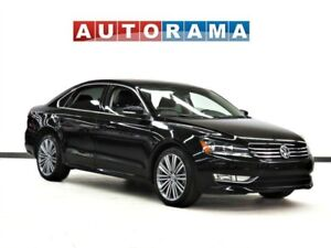 2015 Volkswagen Passat 1.8 TSI HIGHLINE NAVIGATION LEATHER SUNRO