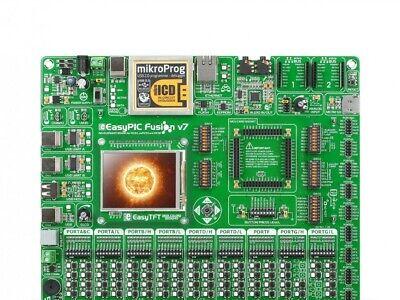 Microchip Mcu Development Board Easypic Fusion V7 Includes Pic24fj128 Mcu Card
