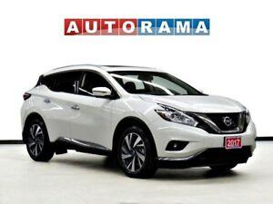 2017 Nissan Murano PLATINUM NAVI LEATHER SUNROOF BACK UP CAM AWD