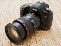 Canon 5d Mark iii + w/ EF 24-105mm f/4 IS USM Lens