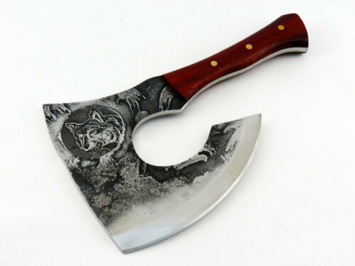 Handmade Hunting Hatchet and Meat Cleaver to Process Game*