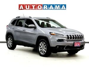 2014 Jeep Cherokee LIMITED NAVIGATION LEATHER AWD
