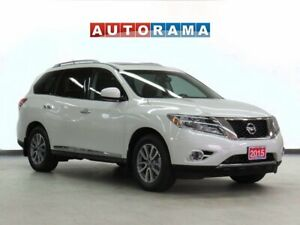 2015 Nissan Pathfinder SL NAVIGATION LEATHER SUNROOF 7-PASSENGER