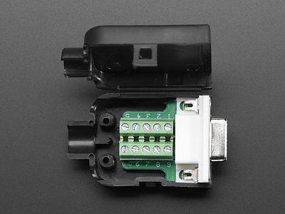 Adafruit DE-9 ( DB-9 ) Female Socket Connector to Terminal Block Breakout S11