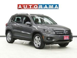 2015 Volkswagen Tiguan COMFORTLINE LEATHER PANORAMIC SUNROOF AWD