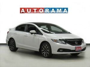 2014 Honda Civic TOURING PKG NAVIGATION LEATHER SUNROOF BACKUP C