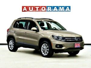 2015 Volkswagen Tiguan HIGHLINE NAVIGATION LEATHER PANO-SUNROOF